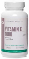 Антиоксиданты Universal nutrition Vitamin Е 1000 50 софт. капс.