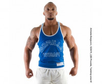 Майка Gorilla Wear Logo Stringer Синяя
